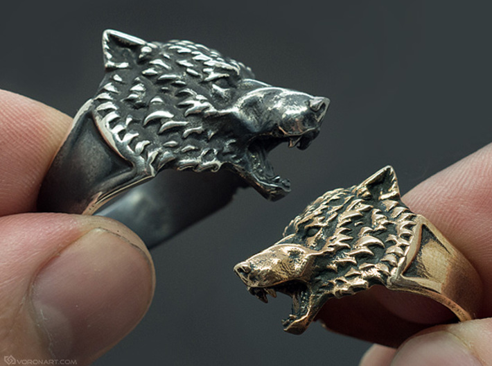 Wolf ring beautiful